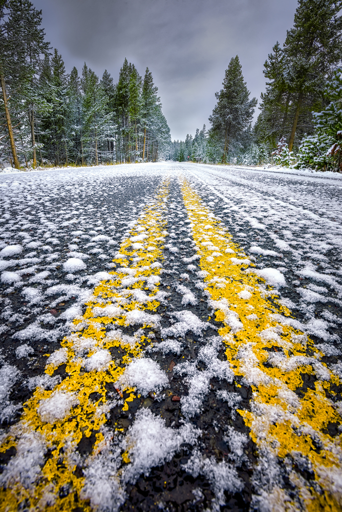 Roadway in front of Yellowstone1