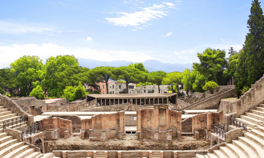 Ruins of Pompeii Italy