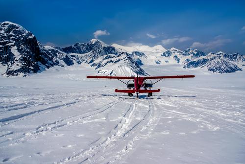 Ruth Glacier in Denali National Park Alaska