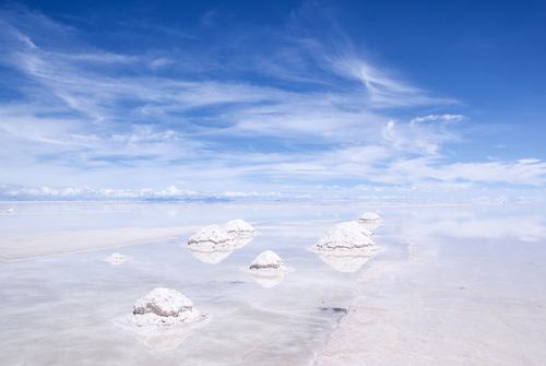 Salt Lake Salar de Uyuni Bolivia