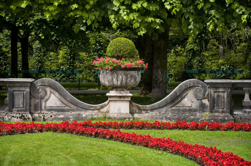 Salzburg Famous Mirabell garden2