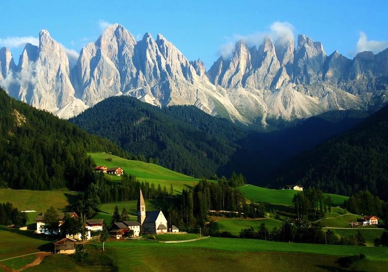 Sankta Magdalena Dolomites South Tyrol