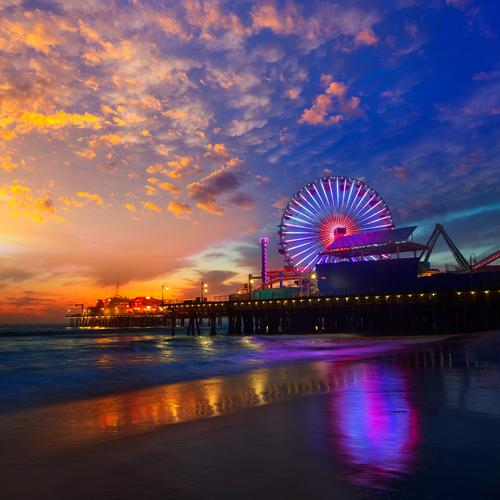 Santa Monica California los angeles