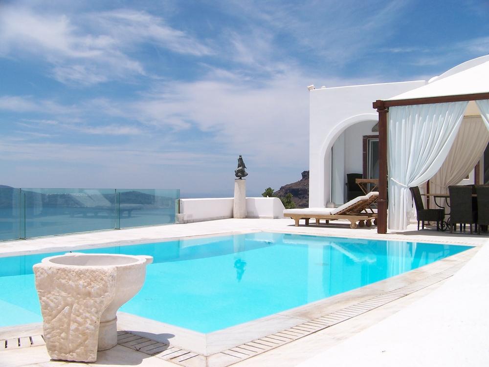 Santorini Pool House