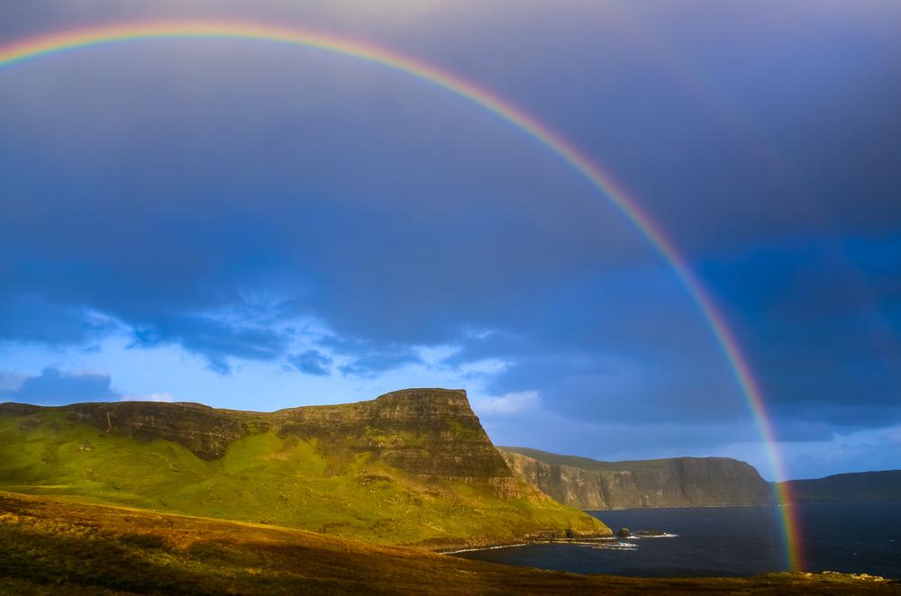 Scottish highlands Isle of Skye United Kingdom