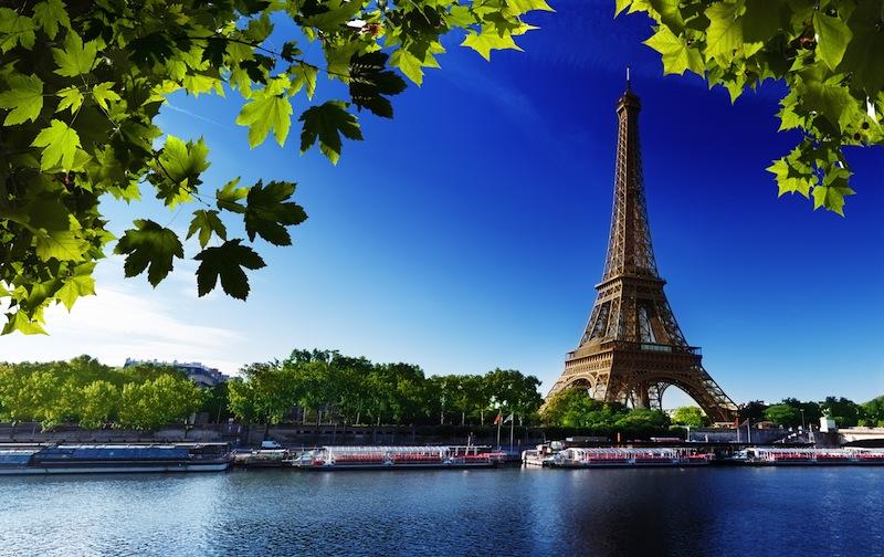 Seine in Paris with Eiffel towerjpg