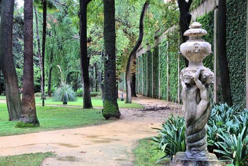 Seville Spain Royal Alcazar gardens famous UNESCO World Heritage Site