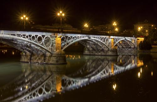 Seville Triana Bridge