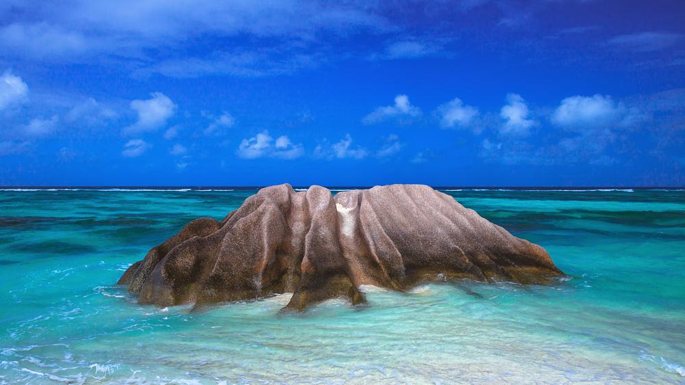 Seychelles quaint granite