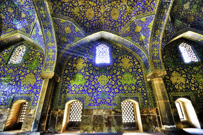 Shah Mosque in Isfahan Iran
