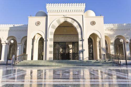 Sharif Hussein Bin Ali mosque in Aqaba Jordan