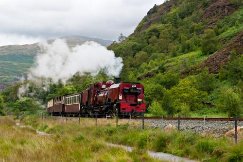 Snowdonia Wales treno