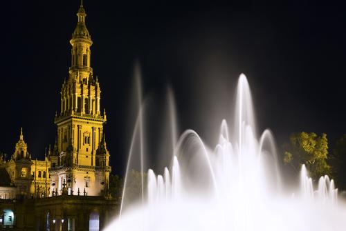 Spanish Square in Sevilla Spain