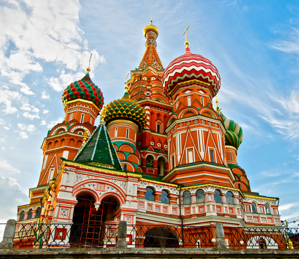 St Basils 0cathedral on Red Square in Moscow