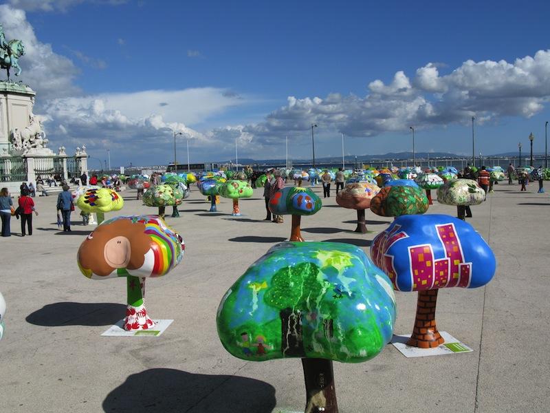 Street art environmental protection Lisbon