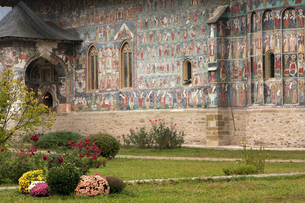 Sucevita Monastery Bucovina Romania 1