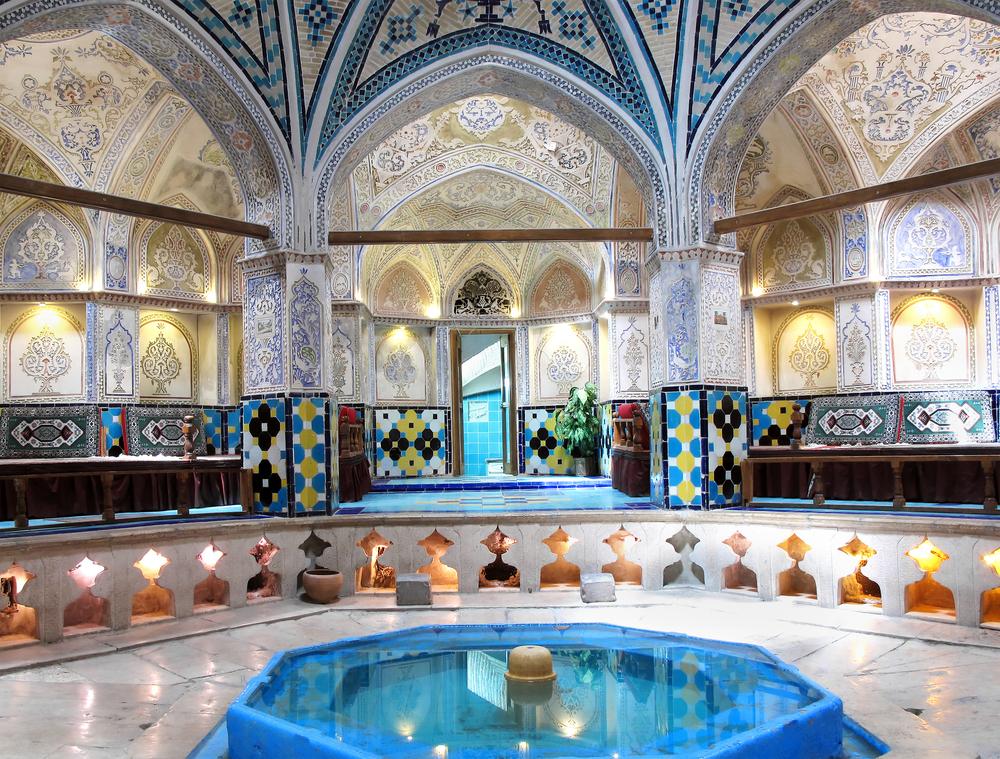 Sultan Amir Ahmad historic bath Kashan Iran8