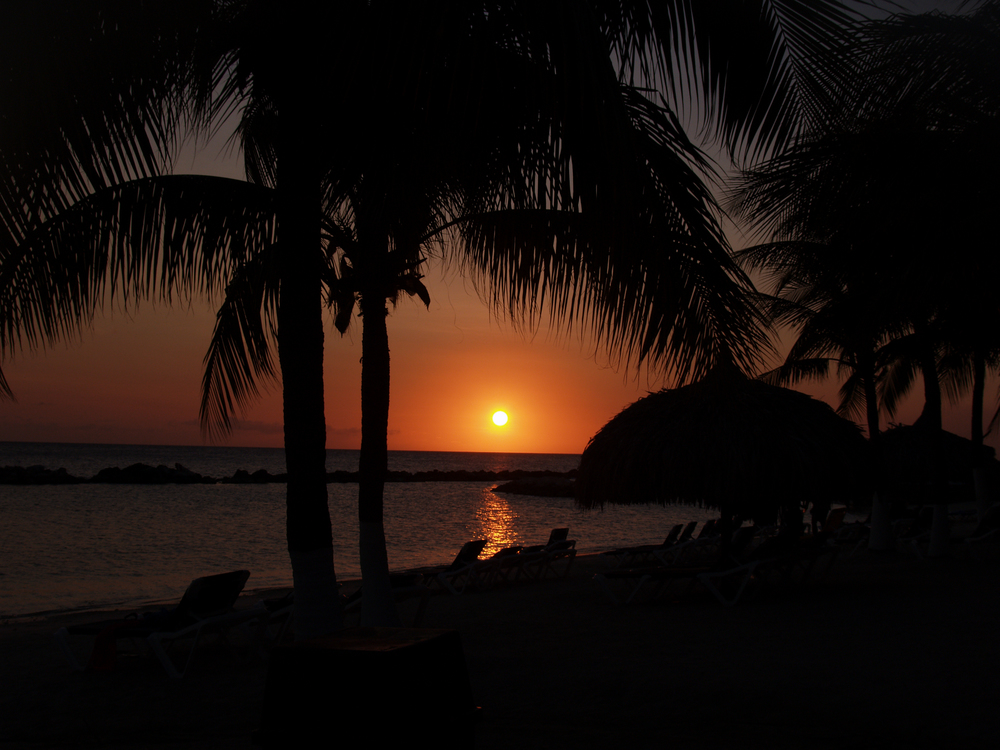 Sunset in Curacao