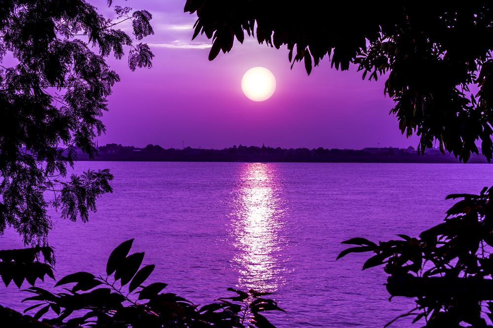 Sunset in Nakhon Phanom