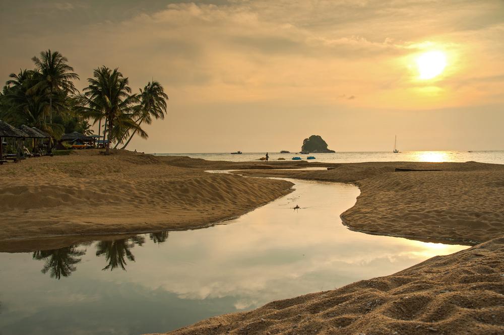 Sunset in Tioman island Malaysia