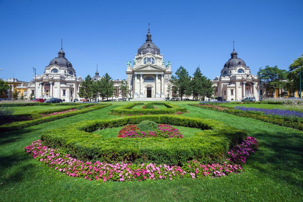Szechenyi Medicinal Thermal Baths and Spa Budapest Hungary