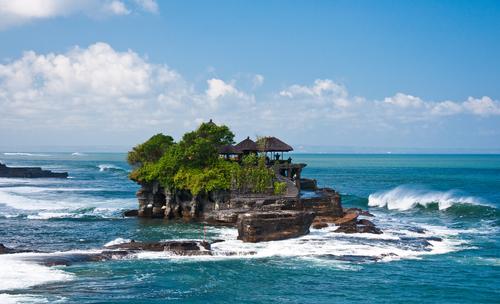 Ta nah Lot Temple Bali Indonesia