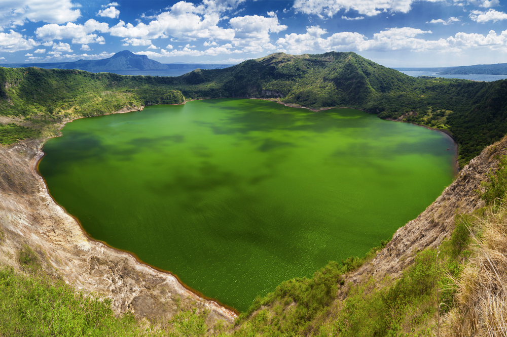 Taal the smallest in the world volcano Manila Philippines