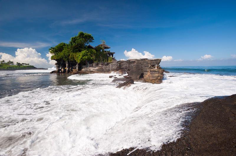Tanah Lot temple Bali Indonesia