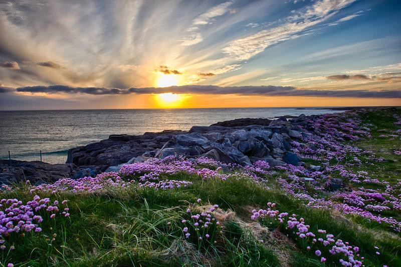 Tangasdale Beach Outer Hebrides Scozia