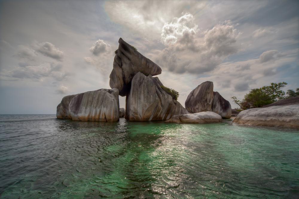 Tanjun Kelayang Beach IBelitung Island Indonesia