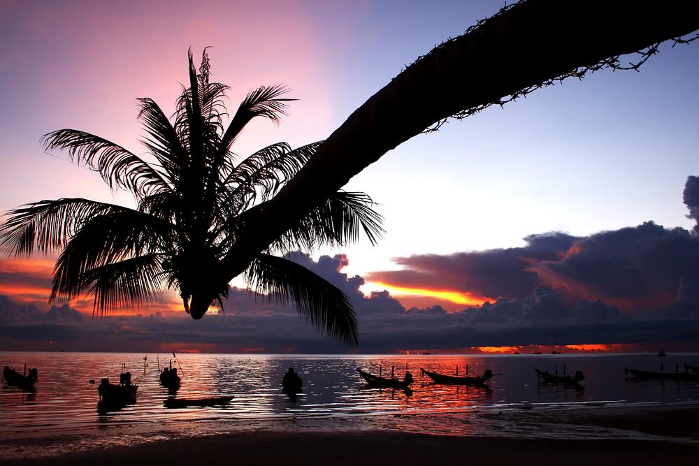 Tao island the popular island in Thailand