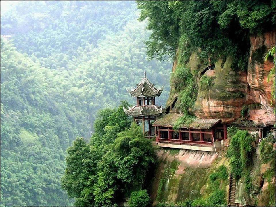 Tempio Xuankong Hunyuan Shanxi China