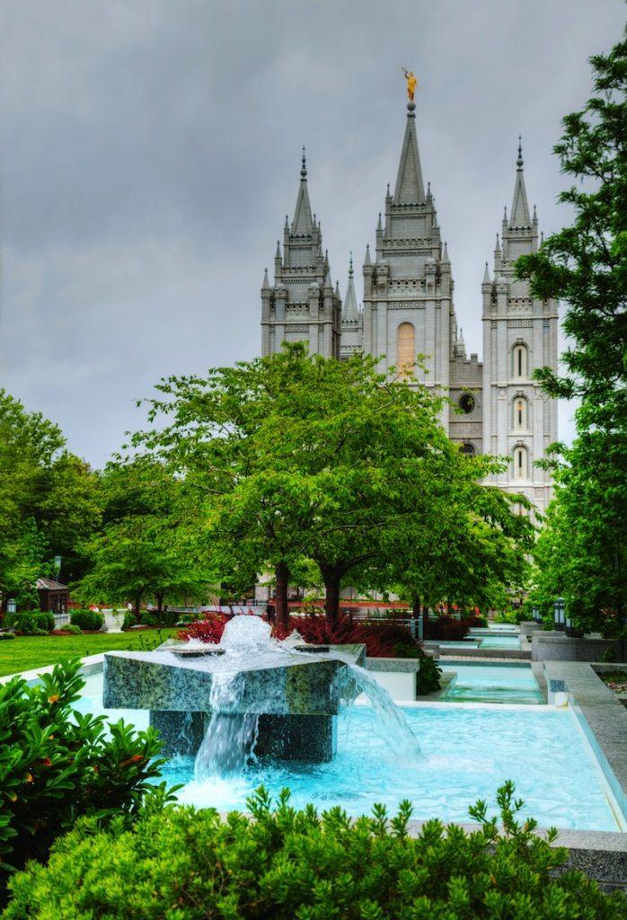 Temple in Salt Lake City UT
