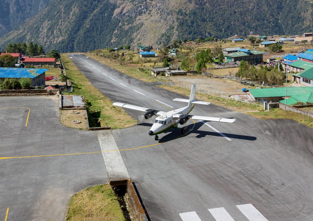 Tenzing Hillary airport Lukla Nepal
