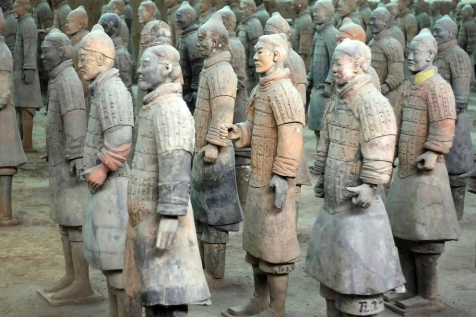 Terracotta warrios Xian Shaanxi China