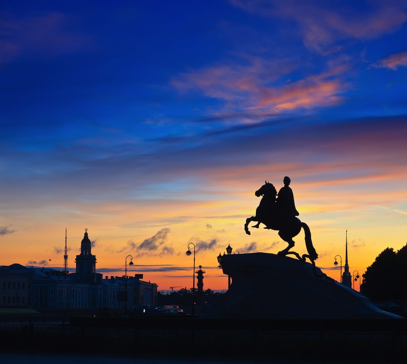 The Bronze Horseman in St