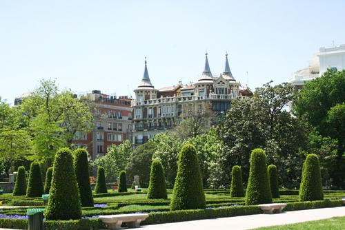 The Buen Retiro Park Madrid