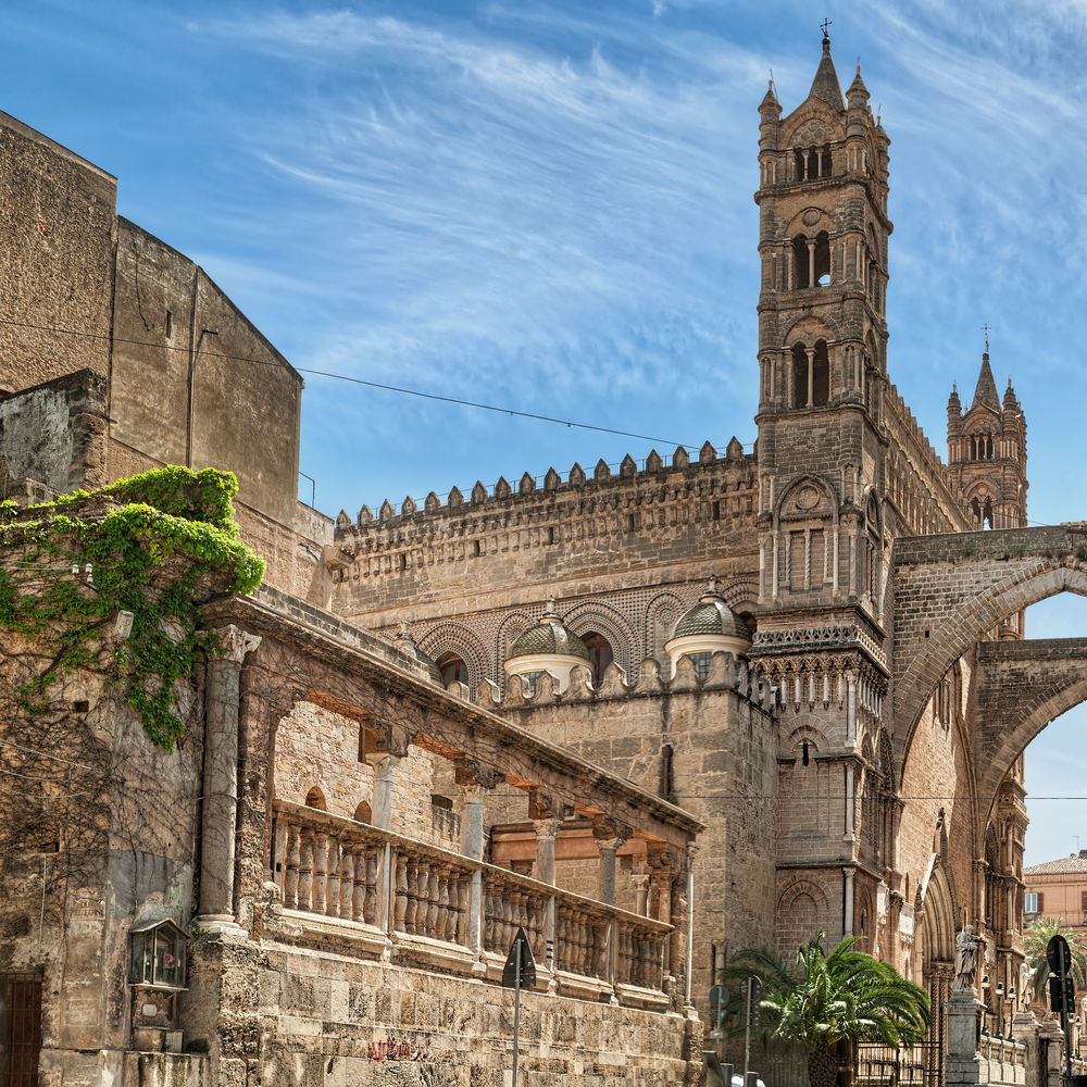 The Cathedral of Palermo is an architectural complex in Palermo Sicily southern Italy