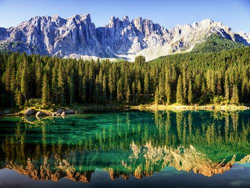 The Dolomites UNESCO world natural heritage site