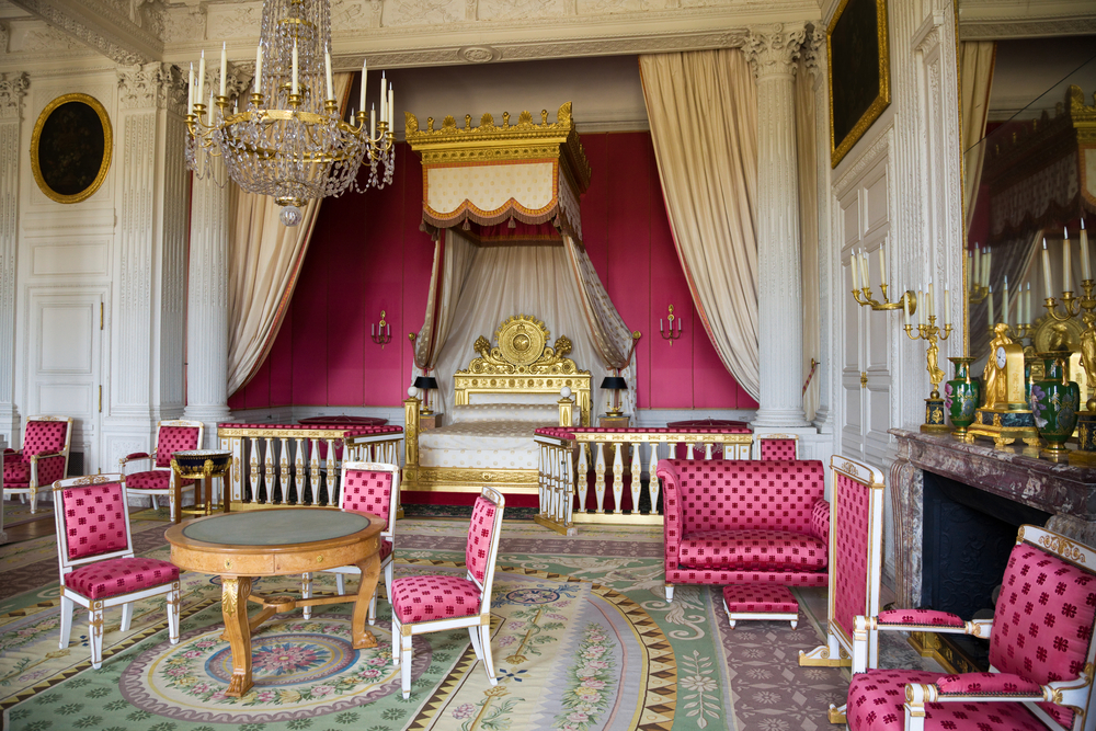 The Empresss Apartment from le Grand Trianon of Versailles Chateau