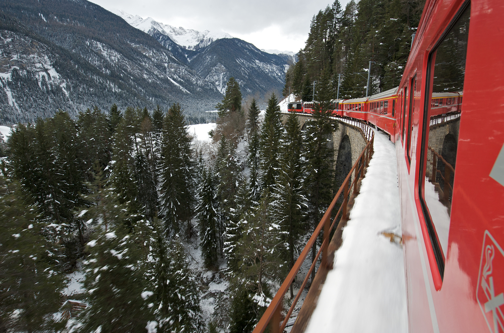 The Glacier Express svizzera