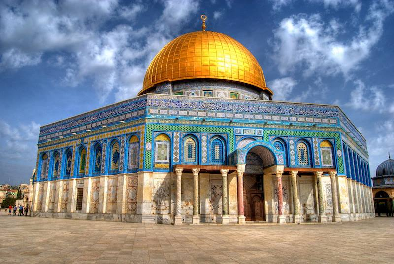 The Golden Dome Of The Rock JerusalemIsrael