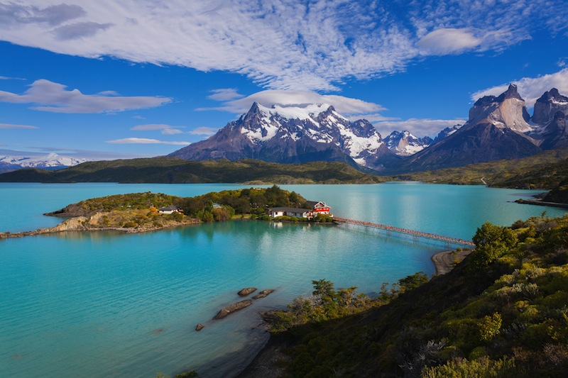 The National Park Torres del Paine Patagonia Chile