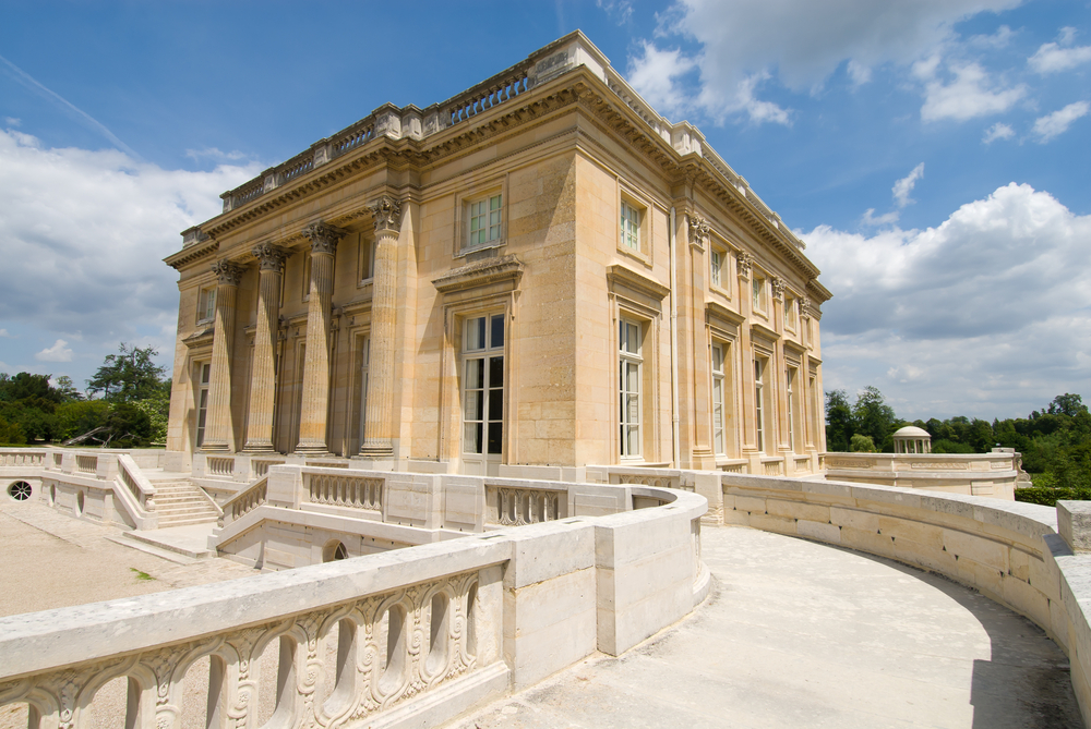 The Petit Trianon small castle built by Gabriel for Louis XV