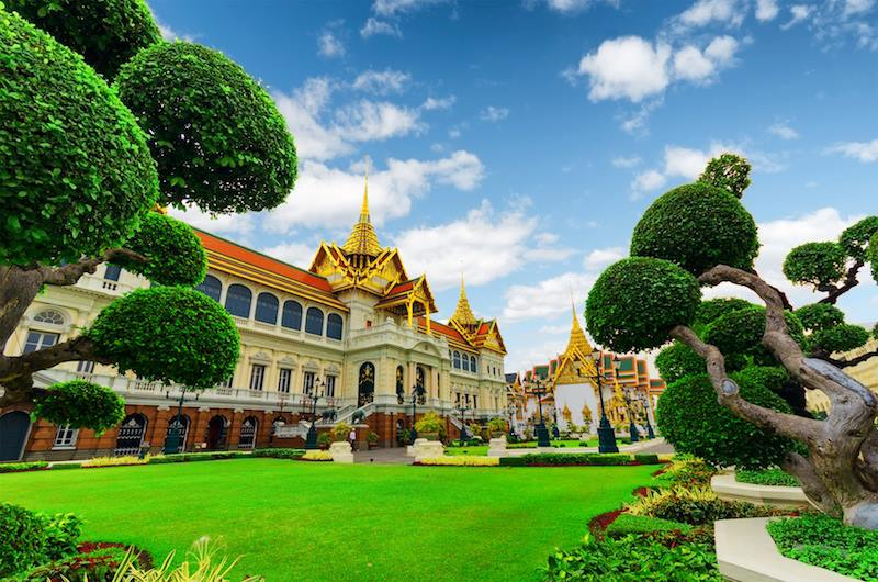 The Royal Grand PalaceBangkok In Thailand