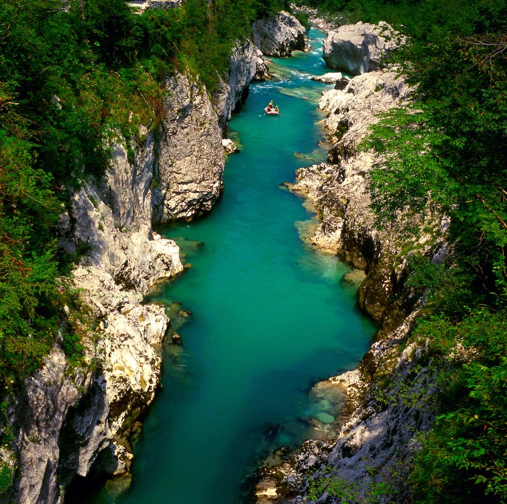 The Soca river Slovenia