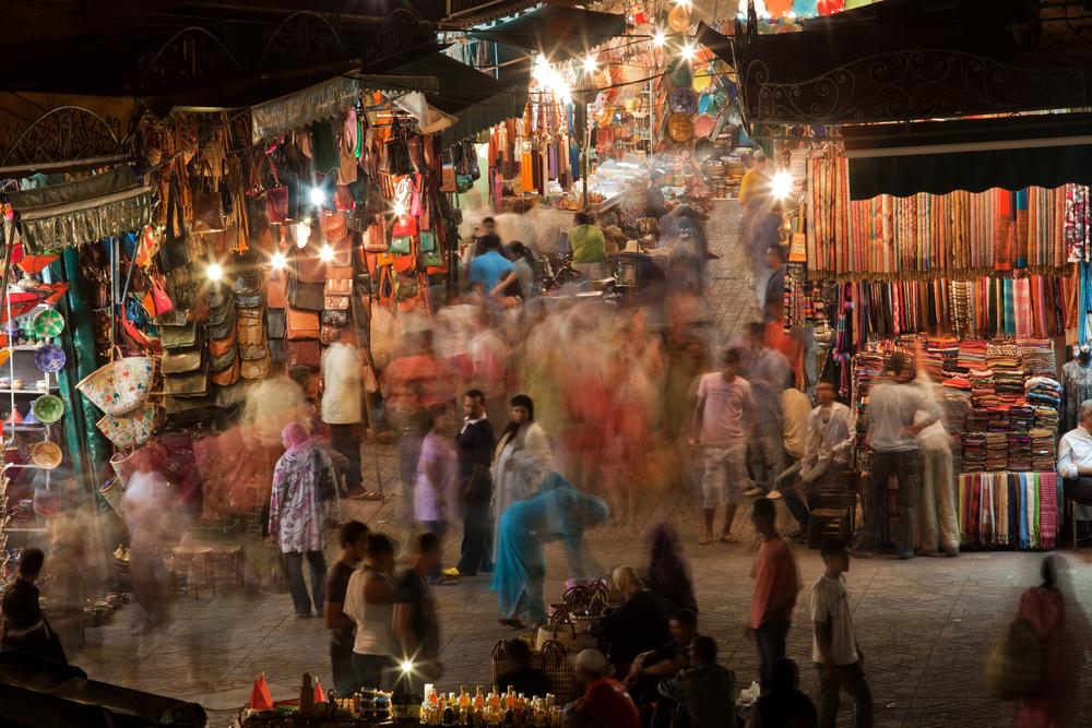 The Souks Marrakesh Morocco