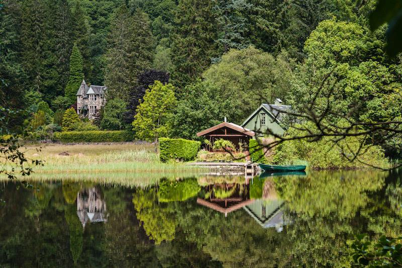 The Trossachs National Park Stirling District Scozia