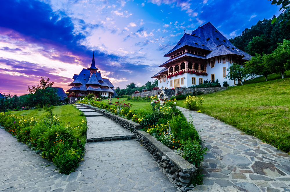The Wooden Churchesorthodoxes in the Maramures region the northern part of the country