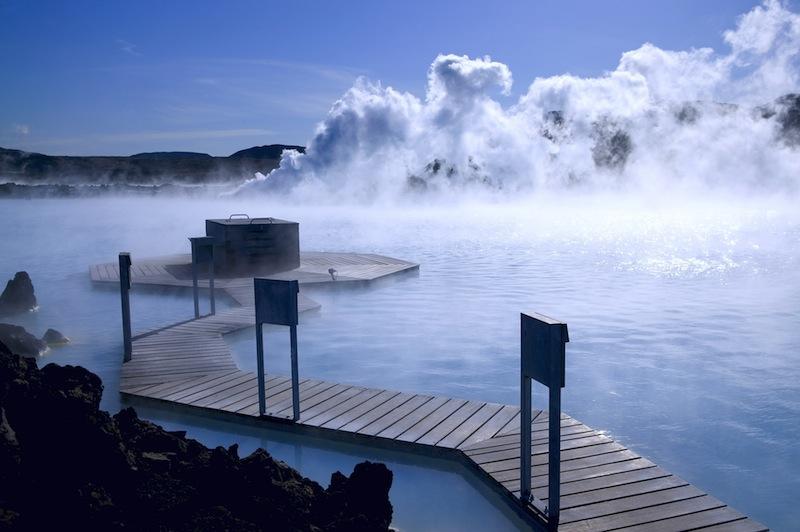 Thermal springs in Reykjavik Iceland 1